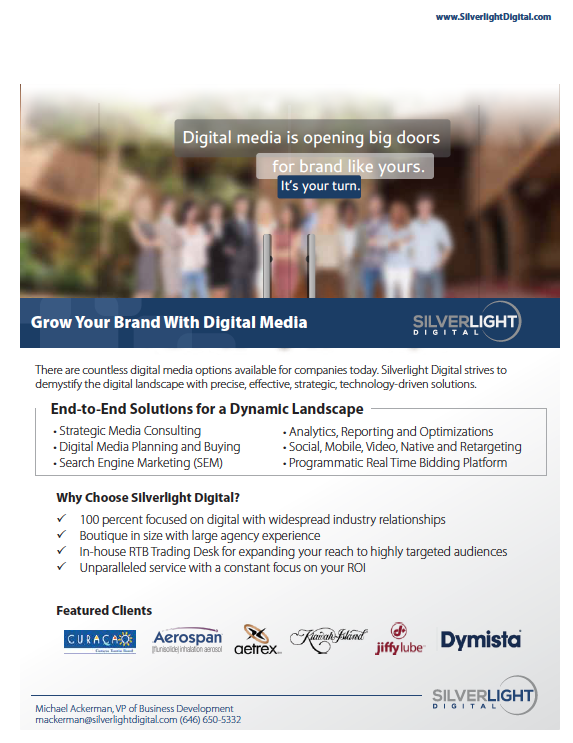 grow your brand silverlight digital